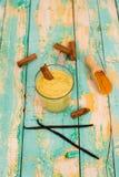 Turmeric smoothie Stock Photo
