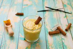 Turmeric smoothie Stock Photo