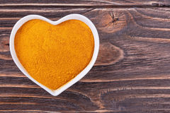 Turmeric spice Stock Photography