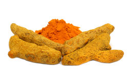 Turmeric Spicy stock photo