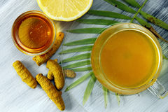 Turmeric Tea Royalty Free Stock Image