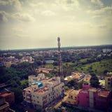 Turmhimmel Chennai-Natur sonniger Tagesim freien Lizenzfreies Stockfoto