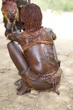 Het springen van de stierenceremonie Ethiopië Royalty-vrije Stock Afbeeldingen