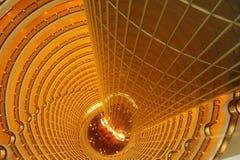 Turminnenraum Shanghais Jin Mao Stockbilder