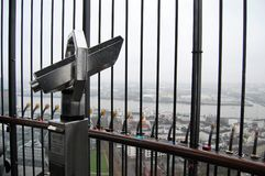 Turmzuschauer bei Michel Lizenzfreies Stockbild