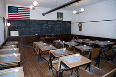 Turn of the century classroom. Royalty Free Stock Photography