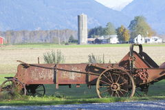 Turn of the Century Farm Equipment Stock Image