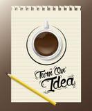 Turn on idea Royalty Free Stock Photos