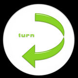 Turn left Royalty Free Stock Photography
