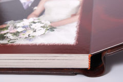 Turn of the photobook Stock Photography