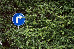 Turn right Royalty Free Stock Photography
