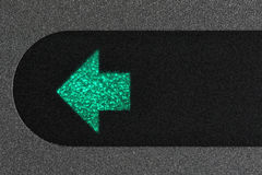 Turn signal control light Royalty Free Stock Images