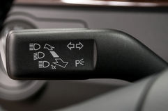 Turn signal switch. Stock Photography