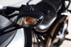 Turn signal for Trike or tricycle . Stock Image