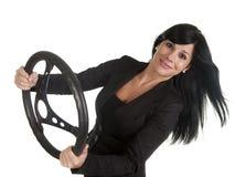 Turn woman Stock Image