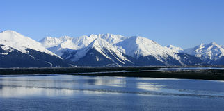 Turnagain Arm, Alaska Royalty Free Stock Photography