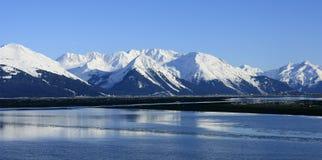 Turnagain Arm, Alaska. Mountains of Turnagain Arm, Alaska Royalty Free Stock Photography