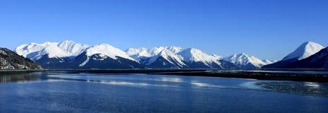 Turnagain Arm, Alaska. View of Turnagain Arm, Alaska Royalty Free Stock Images