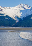 Turnagain Arm Bore Tide Royalty Free Stock Photo