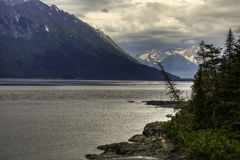 Turnagain Arm, Cook Inlet Royalty Free Stock Photo