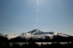 Turnagain Arm fjord Royalty Free Stock Photography