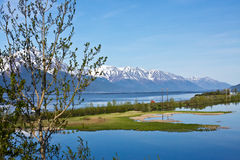 Turnagain Arm and the Seward Highway Stock Photos