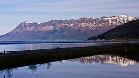 Turnagain Arm and the Seward Highway Stock Images