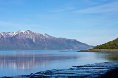 Turnagain Arm and the Seward Highway Stock Photography