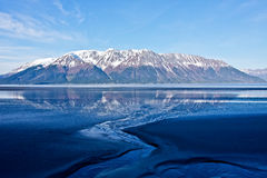 Turnagain Reflection Stock Photography