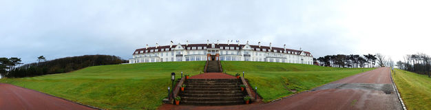 Turnberry旅馆在苏格兰 免版税库存图片
