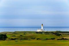 Turnberry fyr i Skottland Fotografering för Bildbyråer