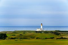 Turnberry Leuchtturm in Schottland Stockbild