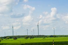 turnbines wind стоковые изображения