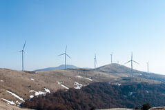 turnbines wind Стоковые Фото