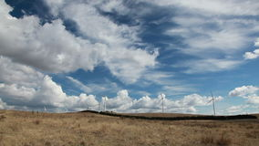 turnbines wind сток-видео
