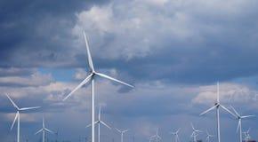 turnbines wind стоковое изображение