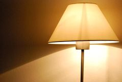 Turned on lamp Stock Photos