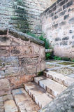 Turned staircase in an old alley Royalty Free Stock Photography