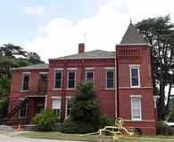Turner Castle. This is a Summer picture of the Southside of the Turner County Jail also known as Turner Castle located in Ashburn, Georgia in Turner County.  The Stock Photography