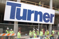 Turner Construction: Conservative Parade Crowds Cincinnati Royalty Free Stock Photos