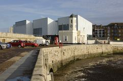 Turner Contemporary Art Gallery. Margate. Kent. England Arkivfoton