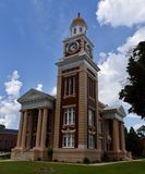 Turner County Courthouse. This is a Summer picture of the Turner County Courthouse located in Ashburn, Georgia in Turner County.  This Courthouse was designed by Royalty Free Stock Photography