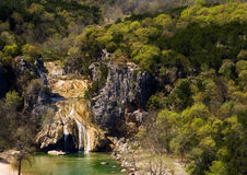Turner Falls, Oklahoma. Turner Falls Park, the oldest park in Oklahoma Royalty Free Stock Photo