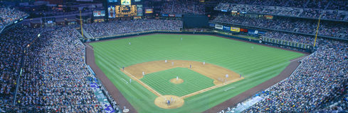 Turner Field at night Stock Image