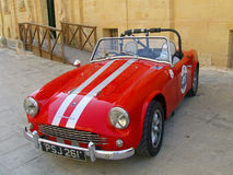 Turner seria sportów Klasyczny Brytyjski samochód obraz stock