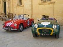 Turner serie & Triumph TR2 sportów samochody obrazy royalty free