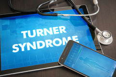 Turner syndrome (endocrine disease) diagnosis medical concept on Stock Photography