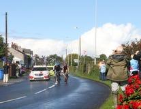 Turnera av etapp 4 för Britannien cirkuleringsrace 2012 Arkivfoton