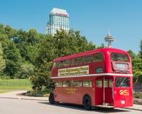 Turnera bussen Niagara Falls Fotografering för Bildbyråer