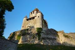 Turnera César av medeltida Provins i Frankrike arkivfoto